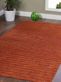 Hand Knotted Loom Wool Area Rug Contemporary Multi