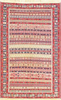 4x6 Kilim Shiraz Persian Area Rug