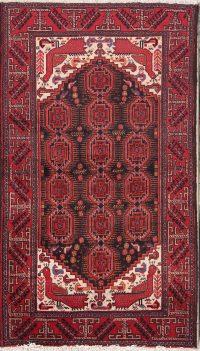 3x6 Balouch Persian Area Rug