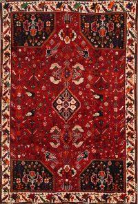 Geometric Tribal Shiraz Persian Area Rug 6x9