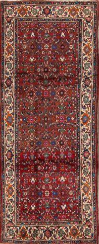 4x10 Hamedan Persian Runner Rug