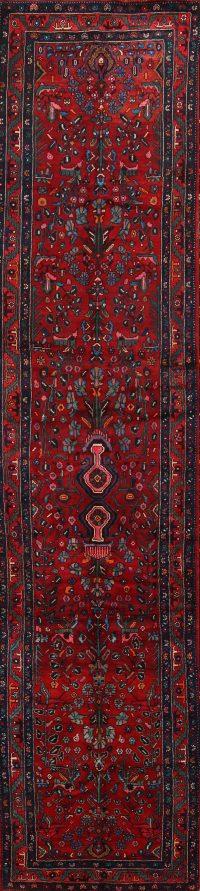 Hamedan Persian Rug Runner 4x16