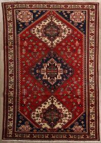 Tribal Geometric Shiraz Persian Area Rug 7x10