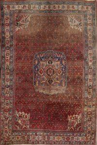 Antique Persian Bidjar Area Rug 7x11