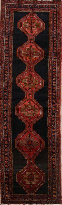 Geometric Ardebil Persian Runner Rug 4x12