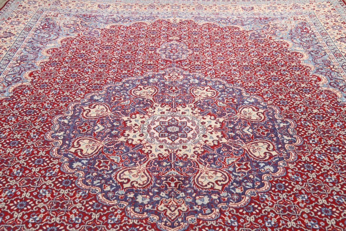 Soft Plush 9×13 Bidjar Machine Made Persian Area Rug