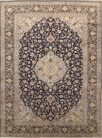 Floral Kashan Persian Area Rug 10x14
