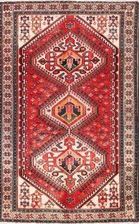 Geometric Tribal 4x7 Bakhtiari Persian Area Rug
