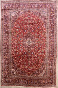 Mansion Sized Floral Kashan Persian Area Rug 10x15