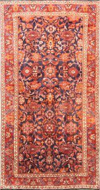Geometric Nanaj Hamadan Persian Area Rug 5x10