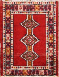 Geometric Tribal 2x3 Turkoman Bokhara Persian Area Rug