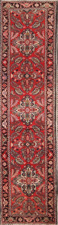 Floral 4x14 Lilian Hamadan Persian Rug Runner