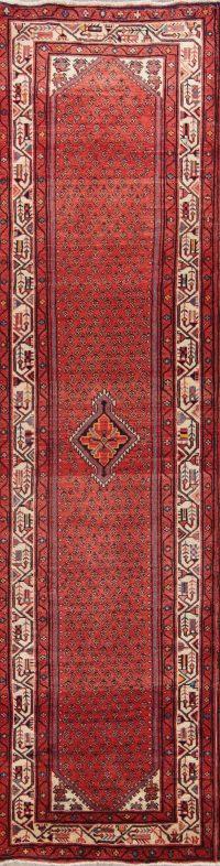 Geometric Botemir Persian Rug Runner 3x13