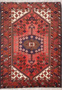 4x5 Hamedan Persian Area Rug