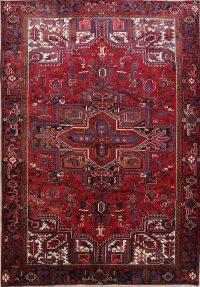 Heriz Persian Area Rug 7x11