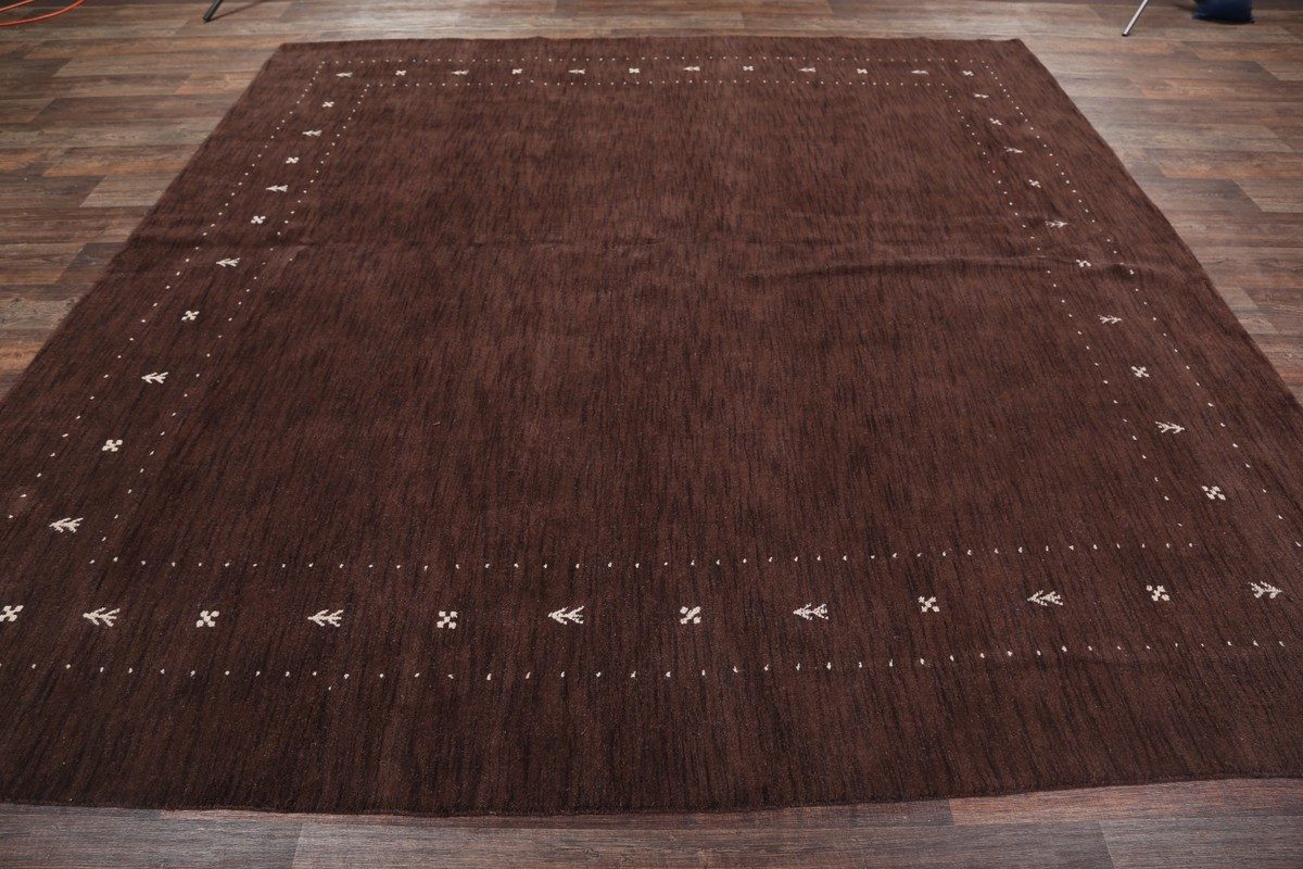Contemporary Gabbeh Oriental Area Rug 10x10