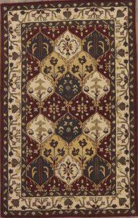 Hand-Tufted Tabriz Agra Oriental Area Rug 9x12