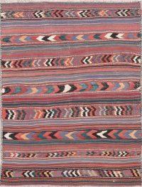 Geometric Kilim Persian Area Rug 5x6