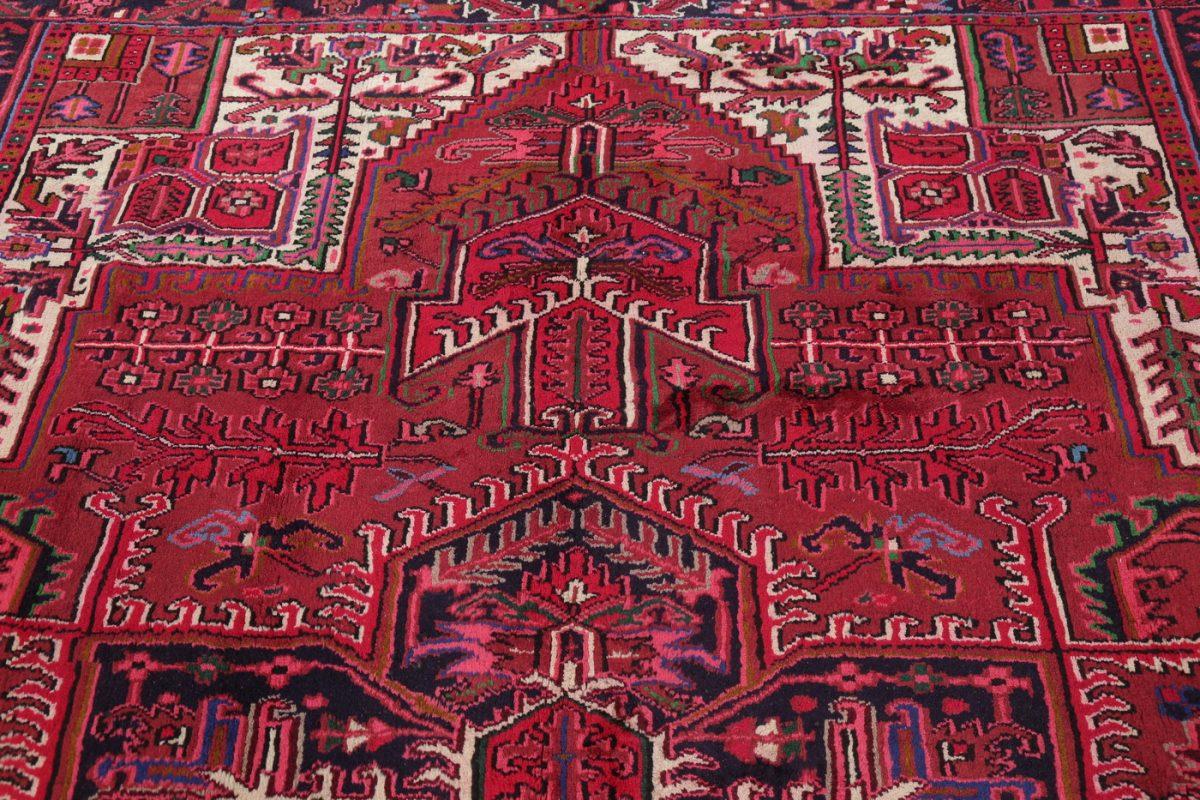 Geometric Heriz Persian Area Rug 8x11
