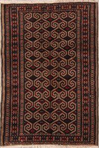 Turkoman Bokhara Persian Area Rug 3x4