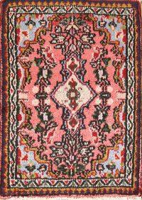 Floral Hamedan Persian Wool Rug 2x3