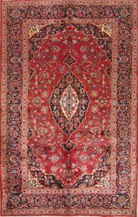 Floral Kashan Persian Area Rug 6x10