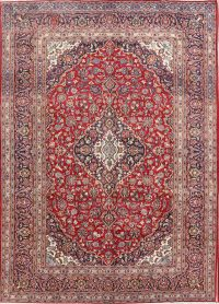 Traditional Kashan Persian Area Rug 8x12