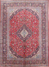 Traditional Kashan Persian Area Rug 9x13