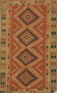 Flat-Weave Kilim-Shiraz Persian Area Rug 3x5
