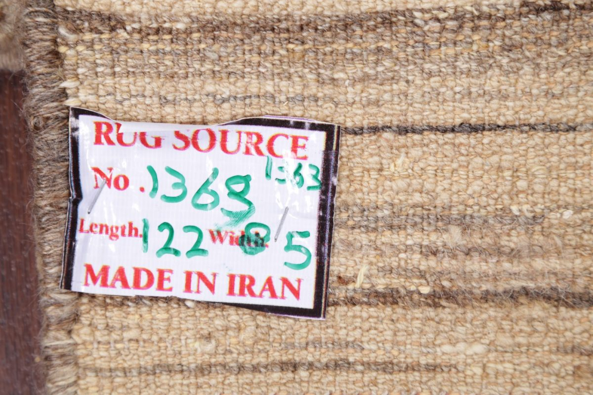 Gabbeh Shiraz Zolanvari Persian Modern Wool Rug 3x4