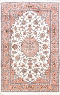 Floral Tabriz Persian Area Rug 7x10