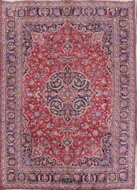 Traditional Mashad Persian Area Rug 8x11