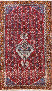 Geometric Wool Ardebil Persian Area Rug 2x4