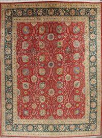 Floral Tabriz Persian Area Rug 12x16