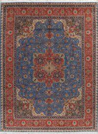 Floral Tabriz Persian Area Rug 10x13