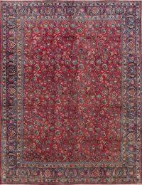 Floral Mashad Persian Area Rug 10x13