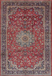 Floral Najafabad Persian Area Rug 8x11