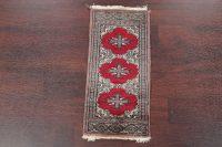 Geometric Bokhara Pakistan Oriental Wool Rug 1x2