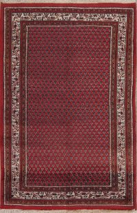 All-Over Boteh Design Botemir Oriental Area Rug 4x6