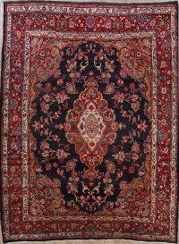 Floral Hamedan Persian Area Rug 9x11