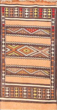 Geometric Kilim Oriental Runner Rug 2x5