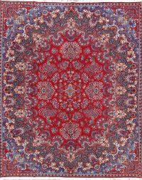 Floral Kerman Persian Area Rug 10x13