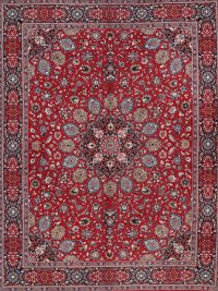 Soft Pile Floral Isfahan Persian Style Area Rug 10x12