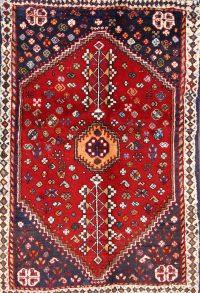 Abadeh Shiraz Persian Area Rug 3x5