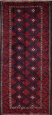 5x10 Balouch Persian Area Rug