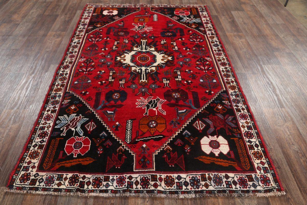 Geometric Shiraz Persian Area Rug 6x9