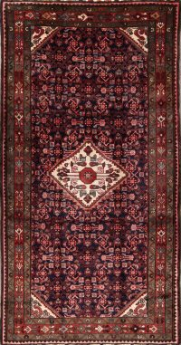 Geometric Malayer Hamedan Persian Area Rug 5x10