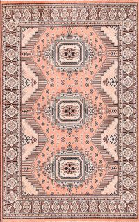 Kazak Turkish Area Rug 2x4