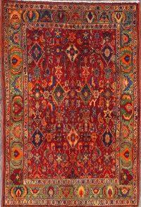 Geometric Kashkoli Shiraz Persian Area Rug 3x5