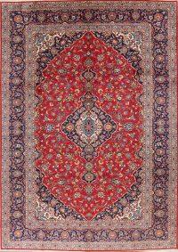 Floral 9x12 Kashan Persian Area Rug
